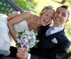 Risate con gli sposi - Paola Montiglio Photography