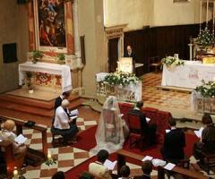 La cerimonia secondo il rito ambrosiano