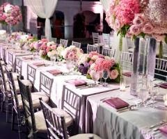 Il catering per il matrimonio