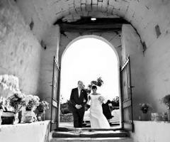 F&B Luxury Events - L'arrivo degli sposi in chiesa