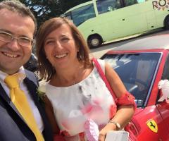 Noleggio di Ferrari per gli sposi