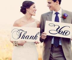 Frasi di ringraziamento per il matrimonio: idee e consigli