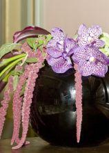 Decorazioni floreali in vaso per la location nuziale