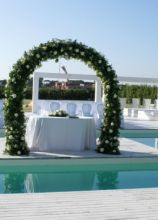 Addobbi per cerimonie all 39 aperto for Addobbi piscina