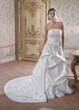 Vestito da sposa con coda