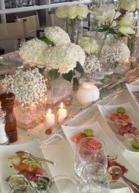 Tavolo imperiale e fiori -  Verdemania Eventi