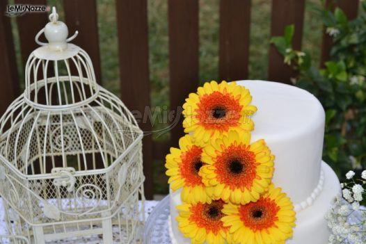 Torte Matrimonio Girasoli : Foto torte nuziali artistiche wedding cake tema