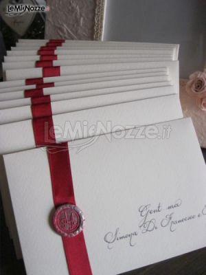 Partecipazioni per il matrimonio scritte a mano - InvitoDiClasse ...