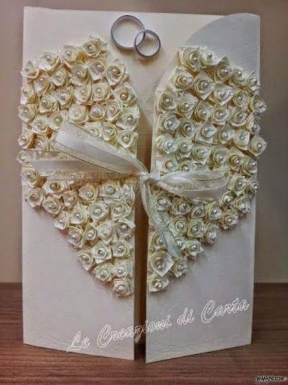 Biglietti Auguri Matrimonio Quilling : Le creazioni di carta partecipazioni e tableau per