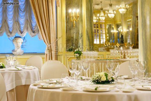 La sala degli specchi per il ricevimento di matrimonio - Sala degli specchi ...