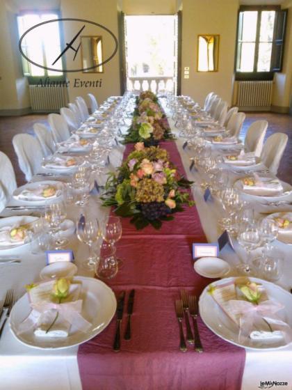 Foto 1 Centrotavola Matrimonio Tavolo Imperiale