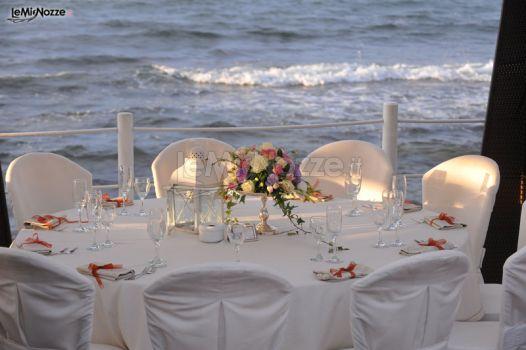 Matrimonio In Riva Al Mare : Sala interma per un matrimonio total white la perla del