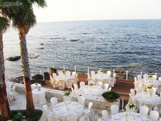 Ricevimento di nozze al tramonto la perla del doge foto 1 - Terrazzi sul mare ...
