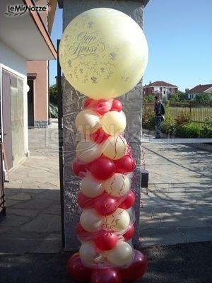 Palloncini per addobbi matrimoniali - Decorazioni matrimonio palloncini ...