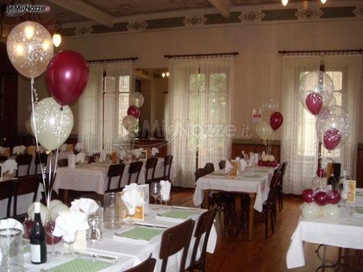 ... palloncini - Decorazioni per il matrimonio a Torino - LeMieNozze.it