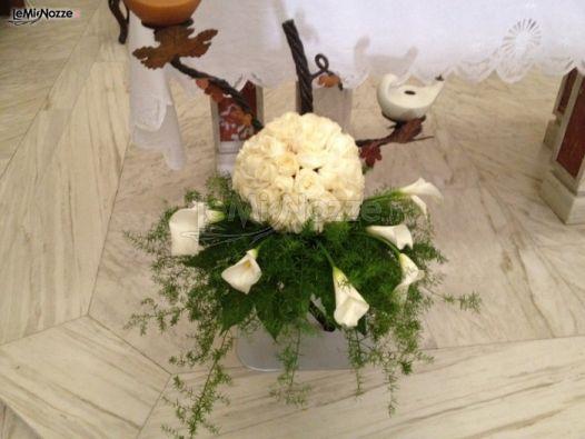 Foto 1 - Addobbi floreali chiesa e cerimonia - Dettaglio delladdobbo ...