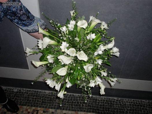 addobbo floreale matrimonio calle