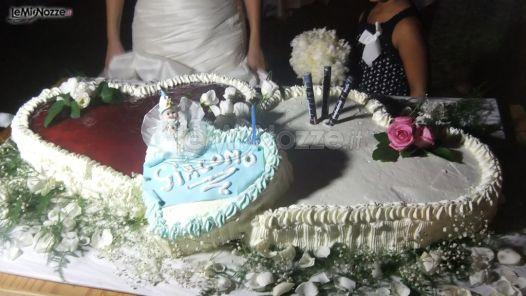 ... nuziali originali - La torta nuziale a forma di cuore - LeMieNozze.it