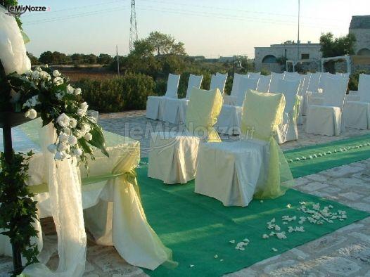 Cerimonia di matrimonio in giardino masseria bonelli - Matrimonio in giardino ...