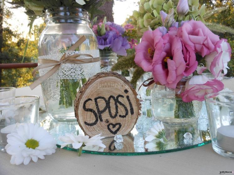 Decorazioni Matrimonio Shabby Chic On Line : Verdemania eventi composizioni floreali per matrimoni a