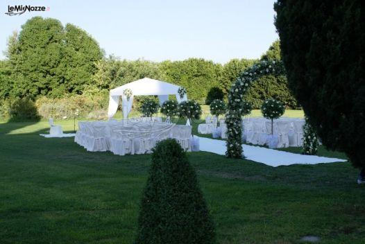 Foto 1 addobbi floreali chiesa e cerimonia for Allestimento giardino