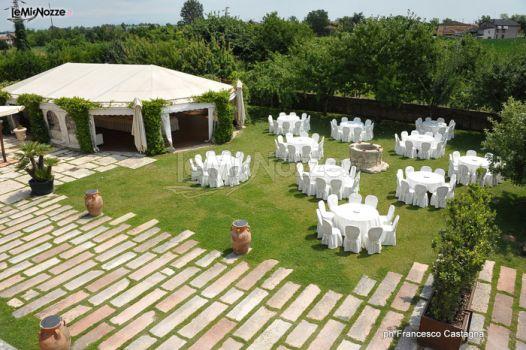 Allestimento in giardino castello bevilacqua foto 9 for Allestimento giardino