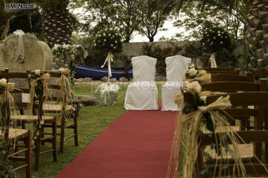 Allestimenti Matrimonio Country Chic : Foto addobbi floreali chiesa e cerimonia addobbo