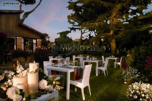Ricevimento di matrimonio in giardino ristorante al fico - Matrimonio in giardino ...