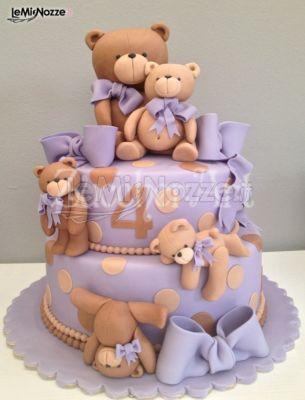 Детский торт миша фото