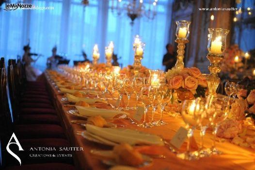 Foto 1 - Centrotavola matrimonio - Illuminazione di candele per il matrimonio - LeMieNozze.it