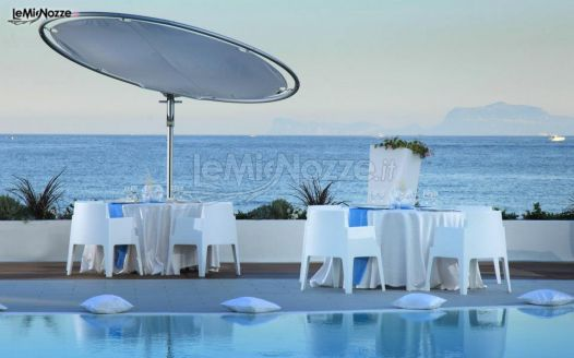 Matrimonio Spiaggia Pozzuoli : Matrimonio con vista sul golfo di pozzuoli kora pool