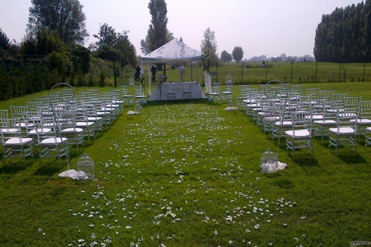 Cerimonia di matrimonio in giardino casale san vito foto 1 - Matrimonio in giardino ...