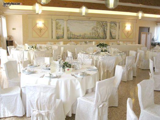 Rustici Matrimonio Vicenza : Tavoli per il matrimonio a vicenza ristorante da piero e