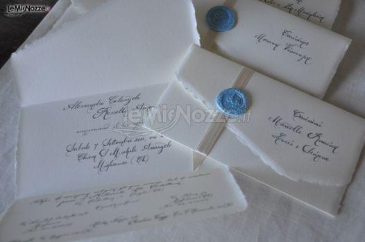 Partecipazioni di matrimonio scritte a mano - InvitoDiClasse - Foto 25
