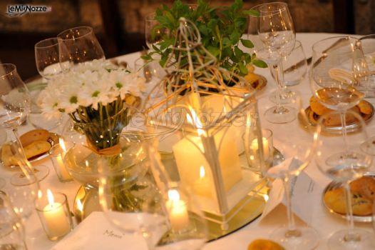 Foto 1 centrotavola matrimonio centrotavola di candele for Centrotavola matrimonio candele