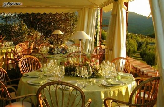 Ricevimento di matrimonio in giardino apollinare - Matrimonio in giardino ...