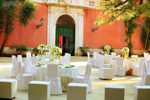 Ricevimento di matrimonio in giardino villa ciardi gi - Matrimonio in giardino ...