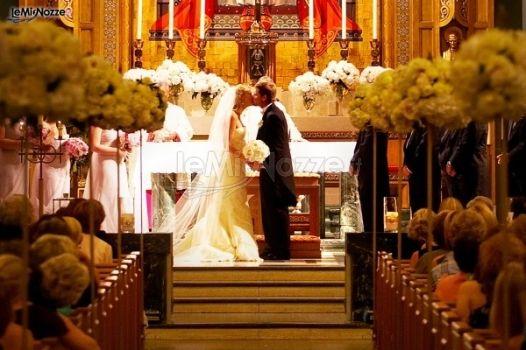 Allestimento Chiesa Ortensie : Allestimento floreale in chiesa con ortensie flor