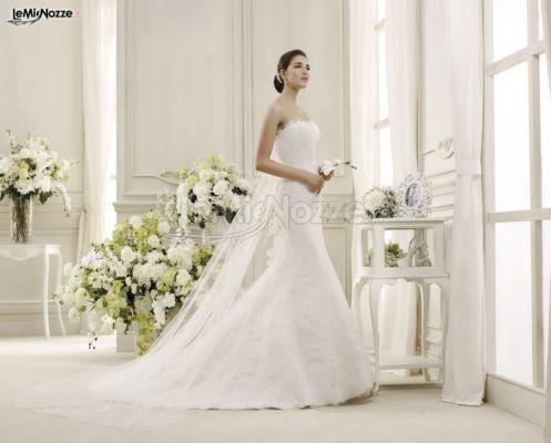 Foto 1 - Abiti da sposa classici - Vestito da sposa a sirena con ...