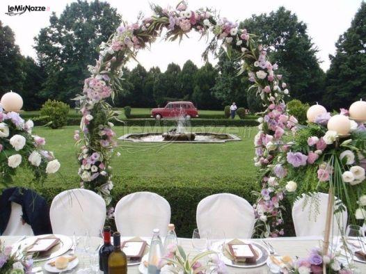 Matrimonio In Giardino : Ricevimento di matrimonio in giardino cascina la