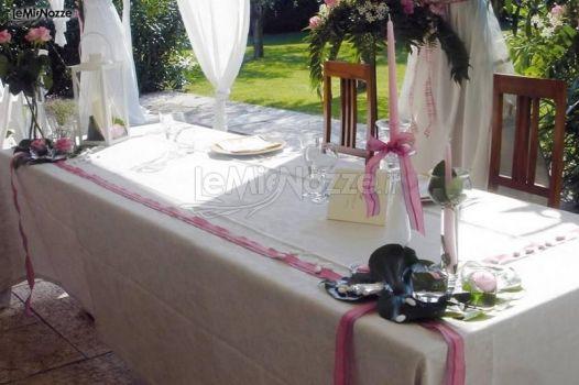 Il tavolo degli sposi la casa di papi foto 7 - Tavolo matrimonio casa sposa ...