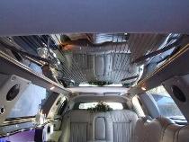Interni della limousine da Luxury Rent by Cris Colombo Roma