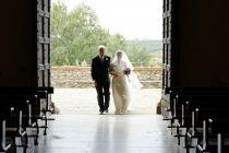 Entrata in Chiesa della sposa - Foto Marcello Melis in stile classico