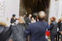 Il lancio del riso - Foto di Marcello Melis in stile reportage