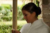 Dettaglio della sposa - Foto Marcello Melis in stile reportage
