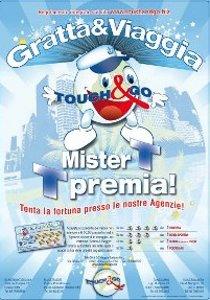 Locandina del Gratta e Viaggia - Touch & Go Agenzia Viaggi e Turismo