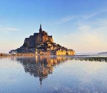 Luna di miele a Mont Sant Michel (Francia)