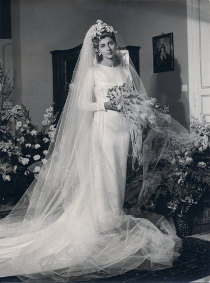 Foto in posa della sposa