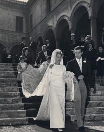 Foto degli sposi anni '50