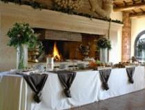 Allestimento del buffet curato da Masolino Creative Banqueting